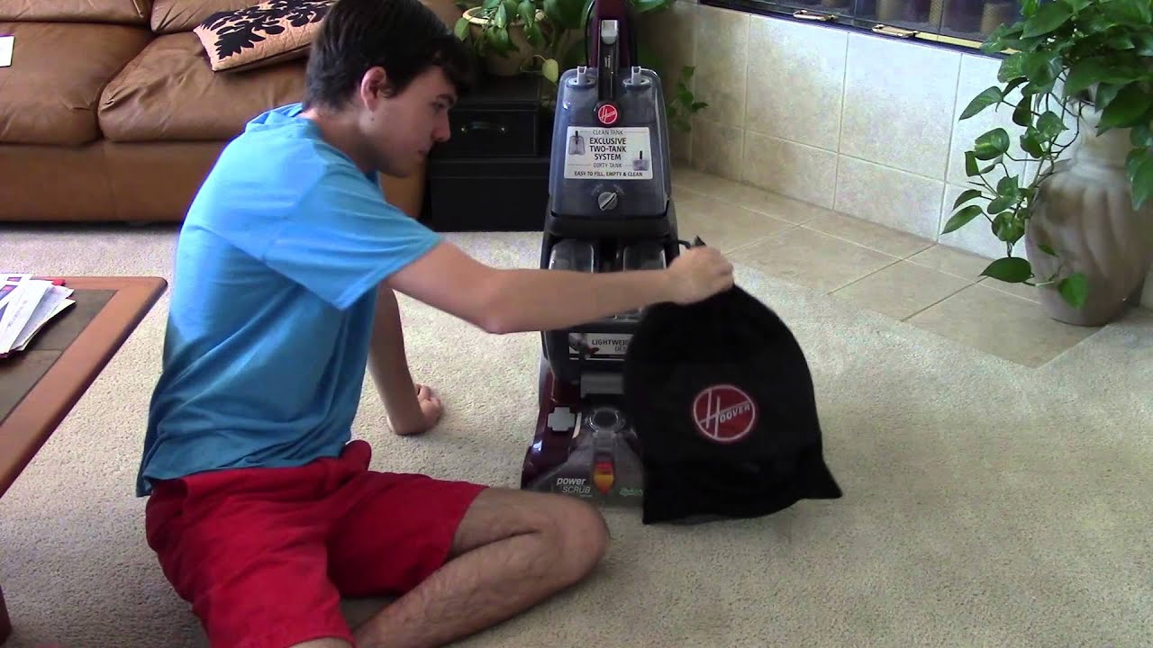 Hoover Power Scrub Carpet Washer 2015 Hoover Dual Power