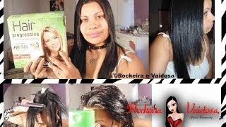 Progressiva em cabelo de henê  Divina Dama