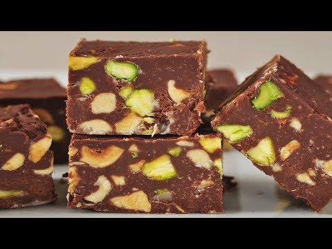 Simple Chocolate Fudge Recipe Demonstration - Joyofbaking.com