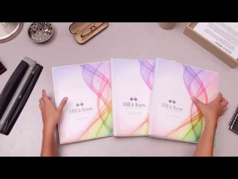 Organize Your Meeting Materials With Avery® Designer View Binders