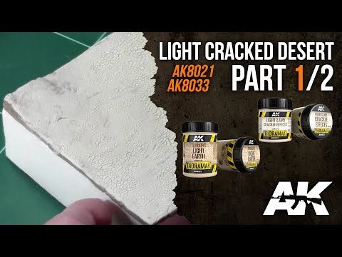 How to: AK8021 & AK8033 || Cracked and desert terrain, PART 1/2
