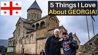 5 Things I Love About GEORGIA (country)