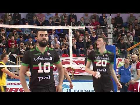 2017-09-30 Lokomotiv-Novosibirsk vs Yaroslavich (clip)