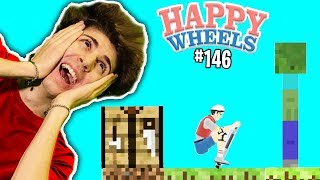 MINECRAFT SU HAPPY WHEELS?!! - Happy Wheels [Ep.146]