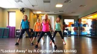 Video LOCKED AWAY-R.City(feat.Adam Levine)Dance Fitness Latin-Fusion COOL-DOWN Routine by Vickie Griffith download MP3, 3GP, MP4, WEBM, AVI, FLV Agustus 2017