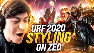 LL STYLISH | URF 2020 IS BACK! STYLING ON ZED