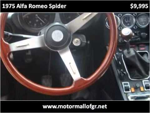 1975 alfa romeo spider available from used car motor mall for Used car motor mall gr