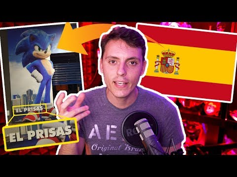 En España le pusieron EL PRISAS a Sonic-Wefere NEWS