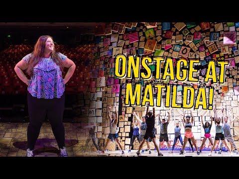 Backstage at MATILDA the Musical (UK Tour/Birmingham Hippodrome) 💙 Rukaya Cesar