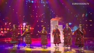 видео Eurovision 2012 - Russia - Buranovskiye babushki - Party for everybody - Lyrics