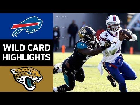 Bills vs. Jaguars   NFL Wild Card Game Highlights