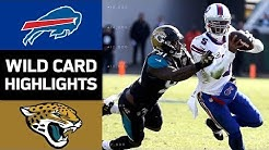 Bills vs. Jaguars | NFL Wild Card Game Highlights
