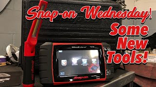 SNAP-ON WEDNESDAY - Lot's Of New Tools! It's Gonna Be A Busy Month