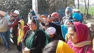 Nagar kirtan parsowal Hoshiarpur 15-01-2017