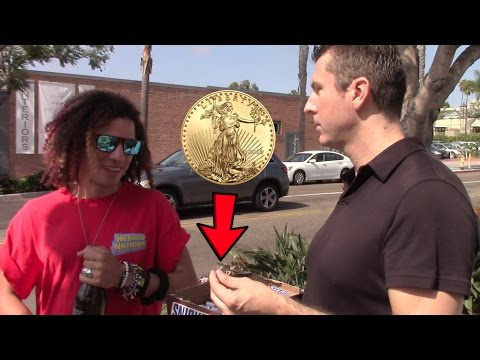 Free Gold Coin or Free Candy Bar?  - (Social Experiment)