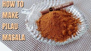 How to make PILAU MASALA -  Shuna's kitchen