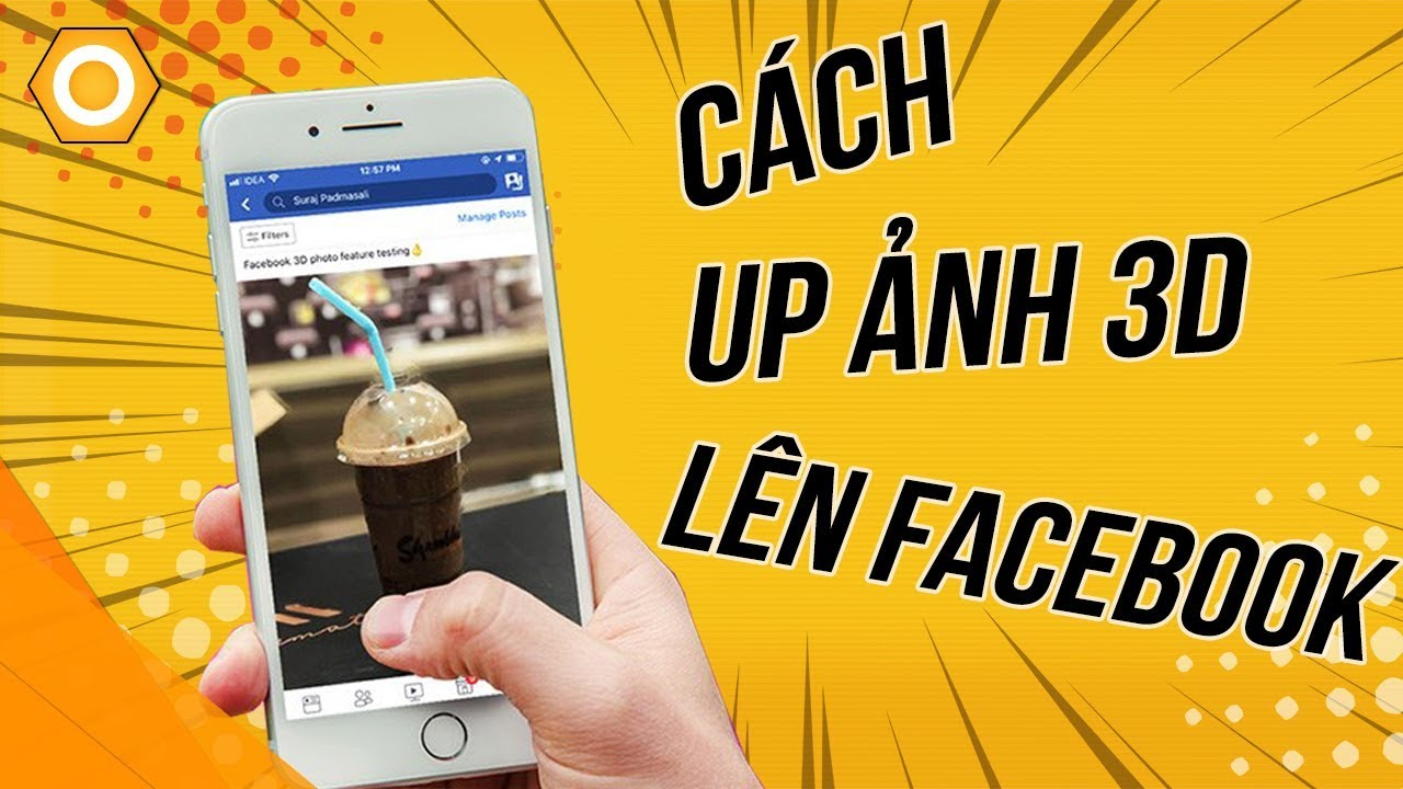 Hướng dẫn up ảnh 3D lên Facebook!