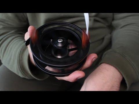 Thesus Jet Black Centre Pin | Fishing Republic