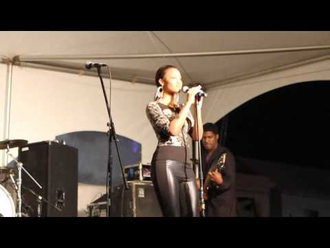 Canjelae Taylor At Hamilton New Years Eve Bermuda December 31 2011