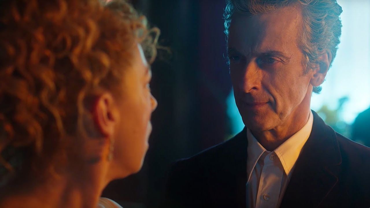 quothello sweetiequot river song meets the twelfth doctor the