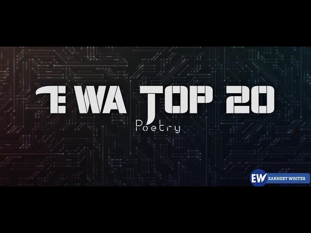 EWA Top 20 Poetry list