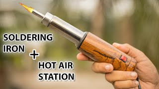 Making The Most Compact Hot Air Station Plus Soldering Iron