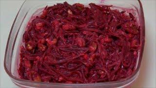 Необычный вкус, привязанность надолго - свекольный салат