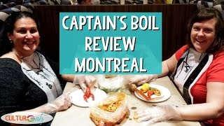 Captain's Boil Restaurant Review in Montreal - Seafood Boil