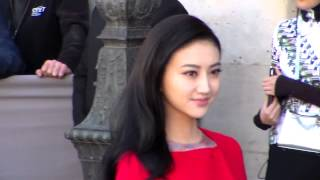 Jing TIAN 景甜 @ Paris 2 october 2015 show Dior Fashion Week