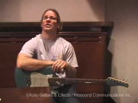 Interview with Chris Duarte Xotic Guitar at Blues Alley in Jan 2009