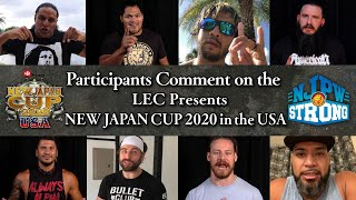 LEC Presents New Japan Cup 2020 in the USA Friday night on NJPW World!