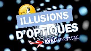 10 NOUVELLES ILLUSIONS D'OPTIQUES AVEC FAROD