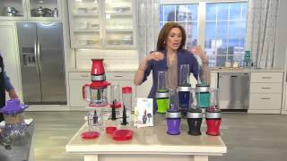 nutri ninja 2 in 1 700w 40 oz food processor and blender with albany irvin