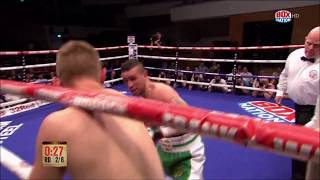 Irish Olympian David Oliver Joyce impressed on his debut at the Wat...