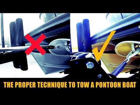 How to tow a pontoon boat | #WPM