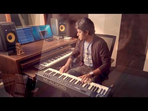 'Pachai Nirame' and 'Nenjai poopol' cover on piano by Jithin Janardhanan