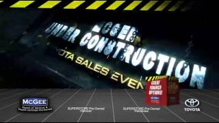 McGEE Toyota in Hanover, Massachusetts - Under Construction Sales Event