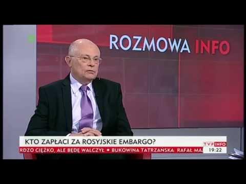 Marek Borowski m.in. o sytuacji Kościoła w Polsce (INFOrozmowa TVP Info, 08.08.2014)