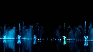 Абрау-Дюрсо /Ночное шоу на озере