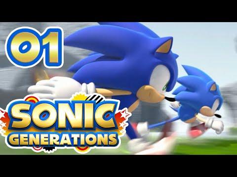 Sonic Generations #01 : UNE AVENTURE, DEUX SONIC