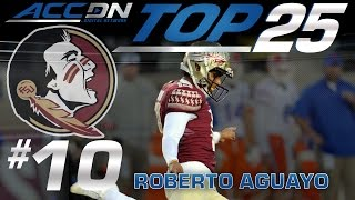 FSU's Aguayo Establishing Himself As Greatest College Football Kicker Ever