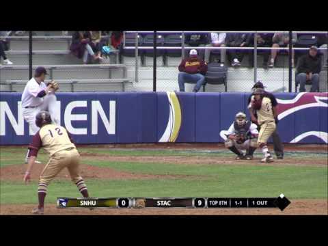 Highlights: @SNHU_Baseball vs.  Saint Thomas Aquinas - NCAA East Regional Final