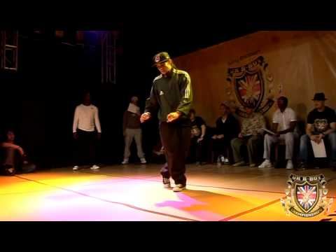 Iron Mike vs Greenteck  Popping Day One  BBoy Championships 2010