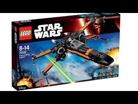 LEGO. Toys For Kids. Lego Star Wars Unboxing Videos. Lego Star Wars Poe's X-Wing Fighter.