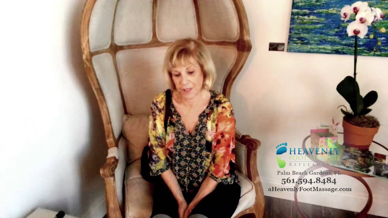 Testimonial For Heavenly Foot Massage