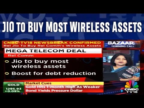 JIO to Buy Most Wireless Assets | MEGA TELECOM DEAL | CNBC TV18