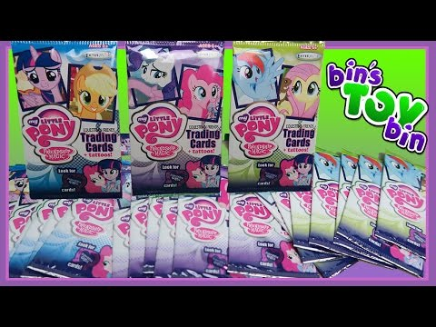 EQUESTRIAN FRIENDS! | Opening 25 Packs! | My Little Pony & E