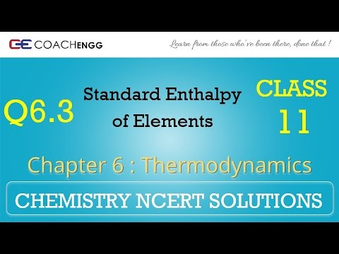 Thermodynamics Q6 3 Chapter 6 Class 11 CHEMISTRY NCERT Solutions