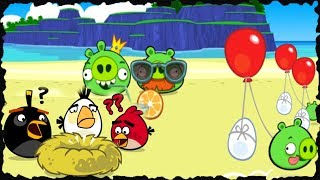 Angry Birds - Surf And Turf Mobile Game Walkthrough All Levels Three Stars