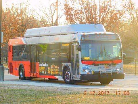 WMATA Metrobus: Bus Observations (February 17, 2017) - Part 2/2  [#W016]